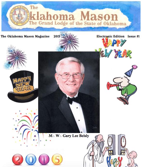 The Oklahoma Mason Magazine – 2015 – Volume 1 – Electronic Edition