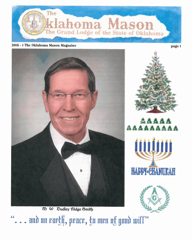 The Oklahoma Mason Magazine – Winter 2015 – Grand Lodge Electronic Edition
