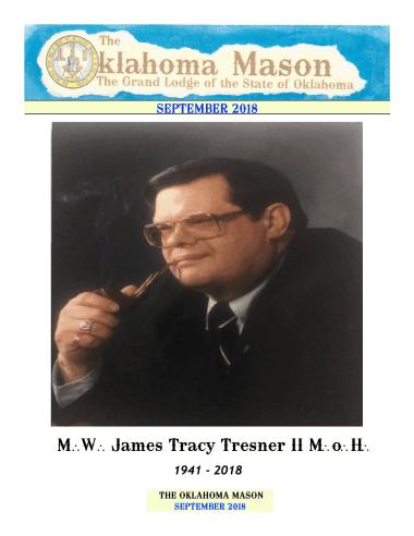 Oklahoma Mason Magazine – September 2018